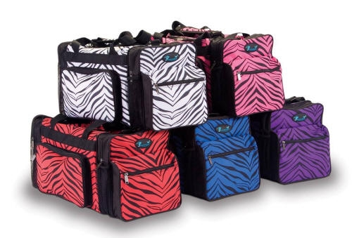 4f764d96f0eb Pizzazz Zebra Print Dance Duffle Bags - You Go Girl Dancewear