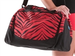 Pizzazz Zebra Print Small Duffle Bag - B400AP - You Go Girl Dancewear