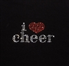 Heat Transfer I Love Cheer - You Go Girl Dancewear