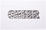 Heat Transfer Zebra CHEER - You Go Girl Dancewear