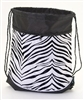 Pizzazz Zebra Print Stringpack - Style ST10AP - You Go Girl Dancewear