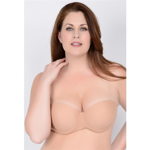 Plus Size Dance Bra, Larger Cup Dance Bra, Clear Back Bra