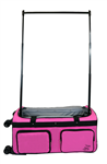 Large Pink 4X Dual Wheel Bag - You Go Girl Dancewear!