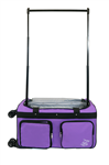 Large Purple 4X Dual Wheel Bag - You Go Girl Dancewear!