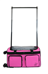 Medium Pink 4X Dual Wheel Bag - You Go Girl Dancewear!