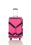 Rac N Roll Pink Expandable Dance Bag 4.0 with Rack, Medium