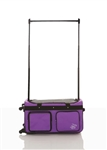 Rac N Roll Purple Expandable Dance Bag with Rack, Medium