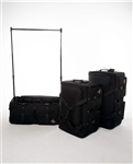 Rac N Roll Black Expandable Dance Bag with Rack, medium