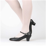 Kitri character shoes by Russian Pointe, Black, Tan