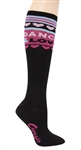 Capezio Knee High Socks - Love Dance - You Go Girl Dancewear