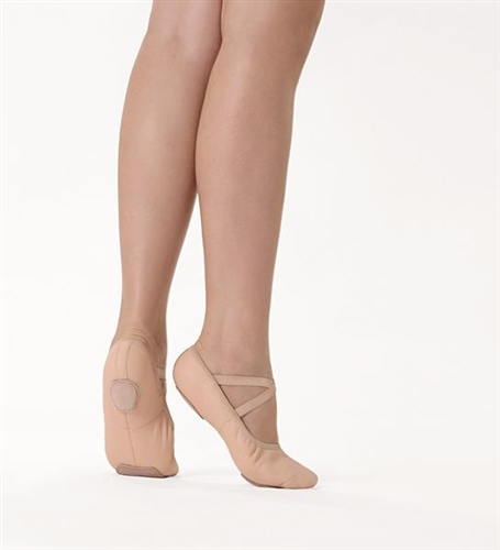 So Danca SD60 Stretch Leather Ballet Shoes Split Sole