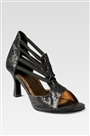 So Danca Women's Leather/Mesh Ballroom Shoe