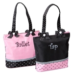 Sassi Designs BTC-02 Ballet/Tap Combo Bag - Small Tote