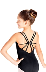 So Danca Double Strap Child Camisole Leotard with back Detail - You Go Girl Dancewear