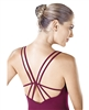 So Danca Double Strap Adult Camisole Leotard with back Detail - You Go Girl Dancewear