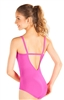 So Danca Camisole Leotard with back Rhinestone Detail