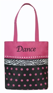 Sassi Designs DZB-01 Dance With Zebra & Polka-Dots