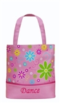 Sassi Designs  FLP-03 Flower Power Tote W/ Crystalline Accents