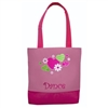 Sassi Designs HNF-01 Hearts N Flowers Small Tote