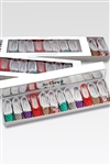 So Danca Assorted Pattern Pack of 12 Ballet Key Chains