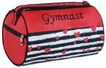 Sassi Designs LTD-02GYM Love to Dance Small Roll Gymnast Duffel