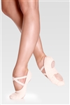 So Danca Bliss Canvas Stretch Split Sole Ballet Shoe