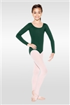 So Danca Child Long Sleeve Leotard w/ Rounded Neckline