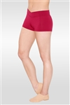 So Danca Adult Dance Shorts w/ V-Front Waistline