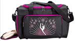 Sassi Designs CEL-02HPK Hot Pink Celebrate Dance Duffel Teal - You Go Girl Dancewear