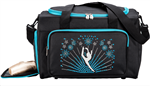 Sassi Designs CEL-02TL Celebrate Dance Duffel Teal - You Go Girl Dancewear
