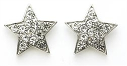 Rhinestone Star Earrings