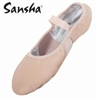 Sansha Elastic Fitted Split Sole Ballet - 16L - You Go Girl Dancewear