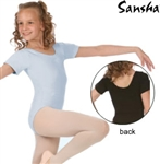 Sansha Child Short Sleeve Leotard (Maggy)