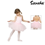 Sansha Cami Leotard with Tutu Skirt