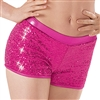 Adult Sequin Boy Cut Dance Shorts - You Go Girl Dancewear