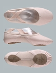 Canvas Ballet Shoes with Stretch Cotton Insert - Split Sole  - WM307