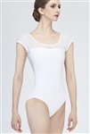 Wear Moi Adult Cap Sleeve Leotard w/ Lace Detail