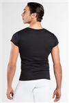 Wear Moi Mens Crewneck Short Sleeve Microfiber Shirt