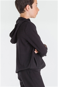 Wear Moi Boys Polyamide Hooded Warm-Up Jacket