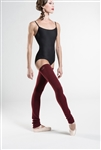 Wear Moi Knitted Acrylic Full Length Fitted Leg Warmers