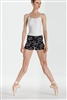 Wear Moi Adult Embroidered Knitted Acrylic Shorts