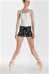 Wear Moi Youth Embroidered Knitted Acrylic Shorts