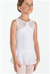 Wear Moi Youth Burnout Jersey and Microfiber Leotard w/ Tulle Skirt