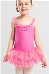 Wear Moi Girls  Dress w/ Glittering Tulle Skirt
