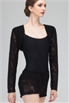 Wear Moi Youth Lace-Like Knitted Acrylic Bolero Style Shrug