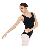 You Go Girl Dancewear Plus Cotton Tank Leotard for Girls
