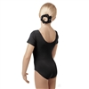 You Go Girl Plus Silk Teck Short Sleeve Leotard for Girls