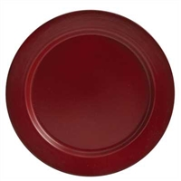 Linville Red Enamel Dinner Plate