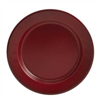 Linville Red Enamel Salad Plate