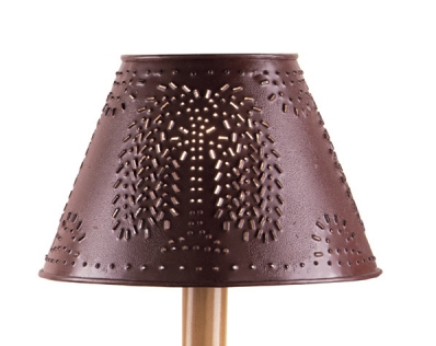 Metal Red Willow Lamp Shade 10""